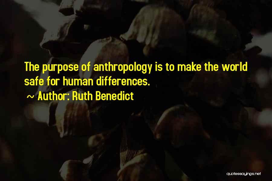 Ruth Benedict Quotes 1713973