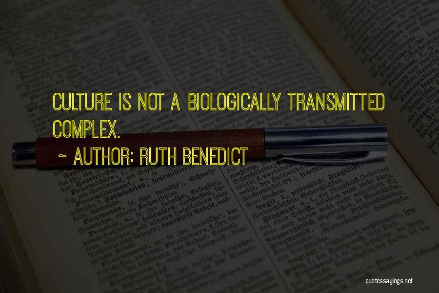 Ruth Benedict Quotes 194871