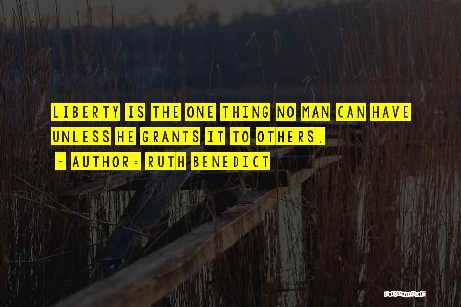 Ruth Benedict Quotes 1951855