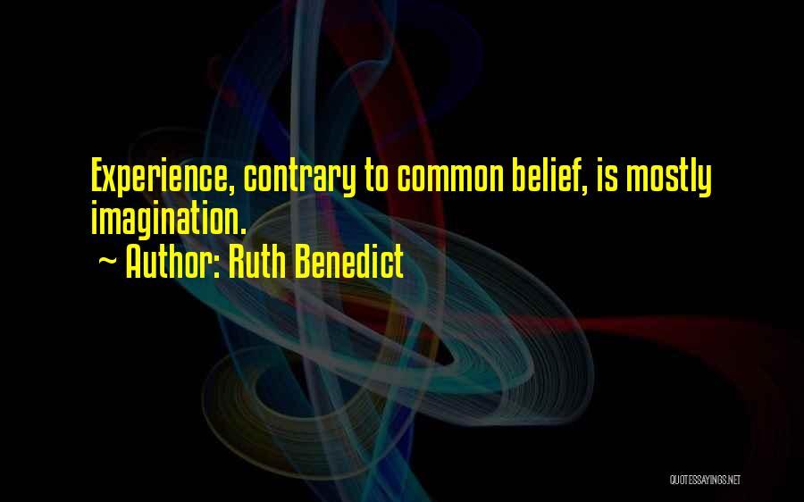 Ruth Benedict Quotes 1975601