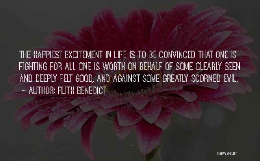 Ruth Benedict Quotes 2068478