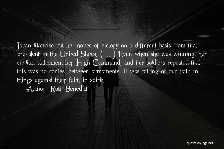 Ruth Benedict Quotes 2118538