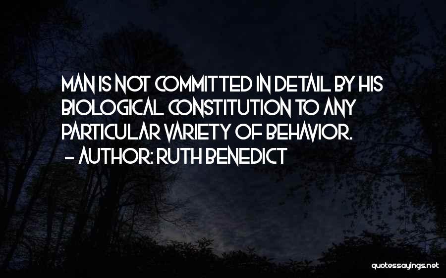Ruth Benedict Quotes 2154876