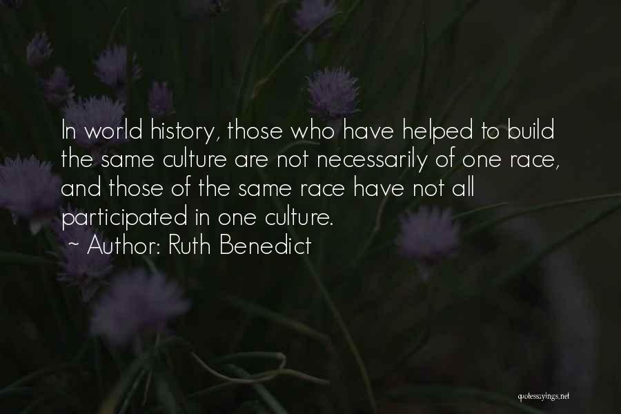 Ruth Benedict Quotes 247504