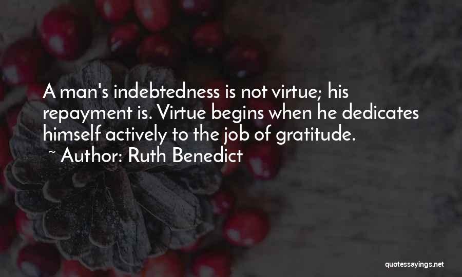 Ruth Benedict Quotes 346100