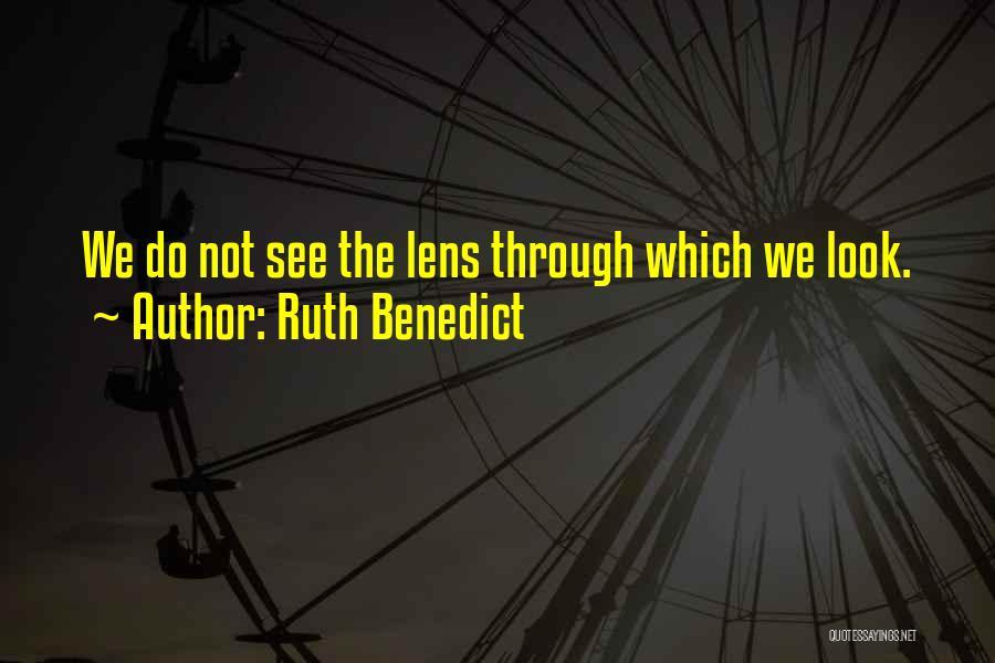 Ruth Benedict Quotes 442609
