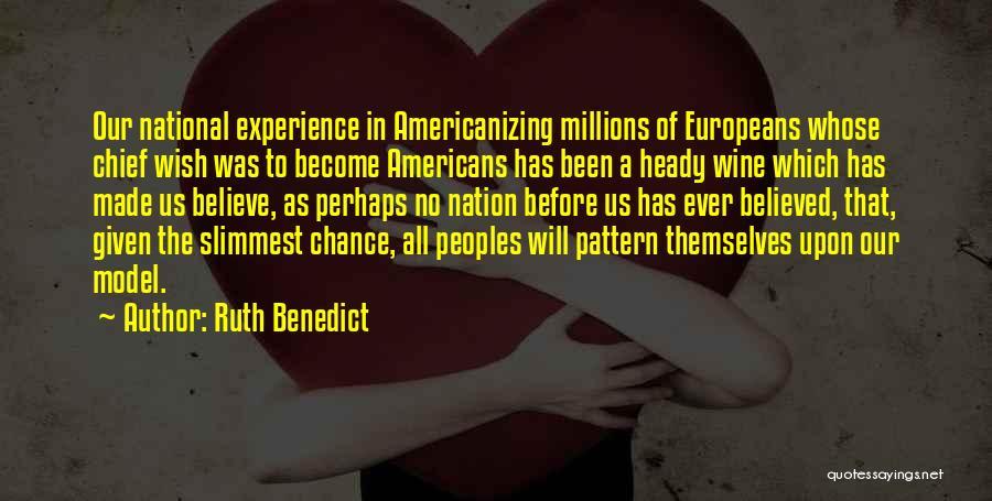 Ruth Benedict Quotes 712039
