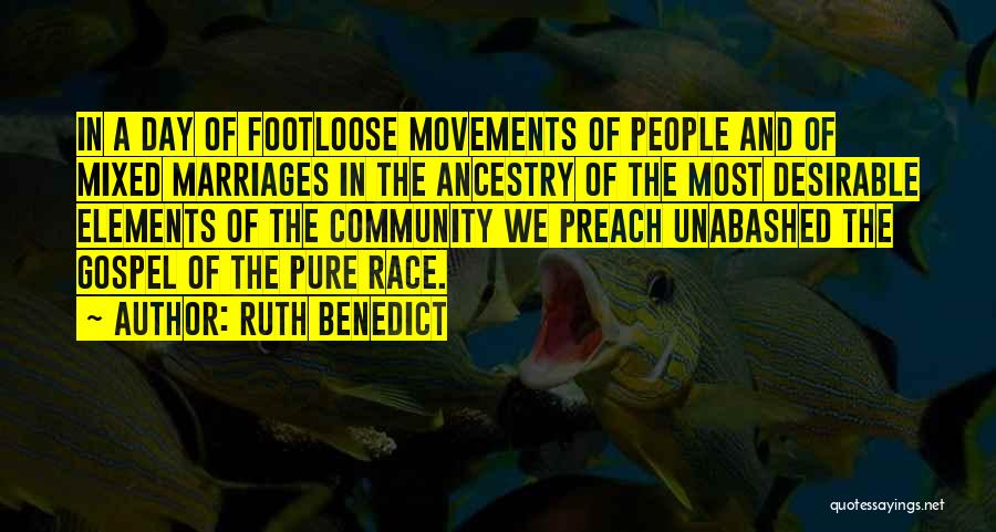Ruth Benedict Quotes 765461