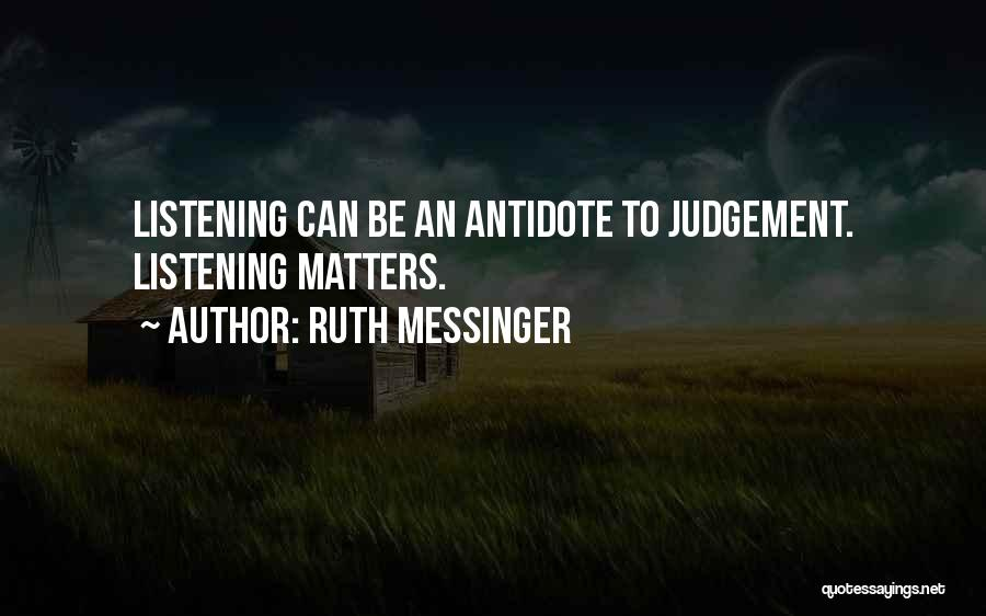 Ruth Messinger Quotes 1720642