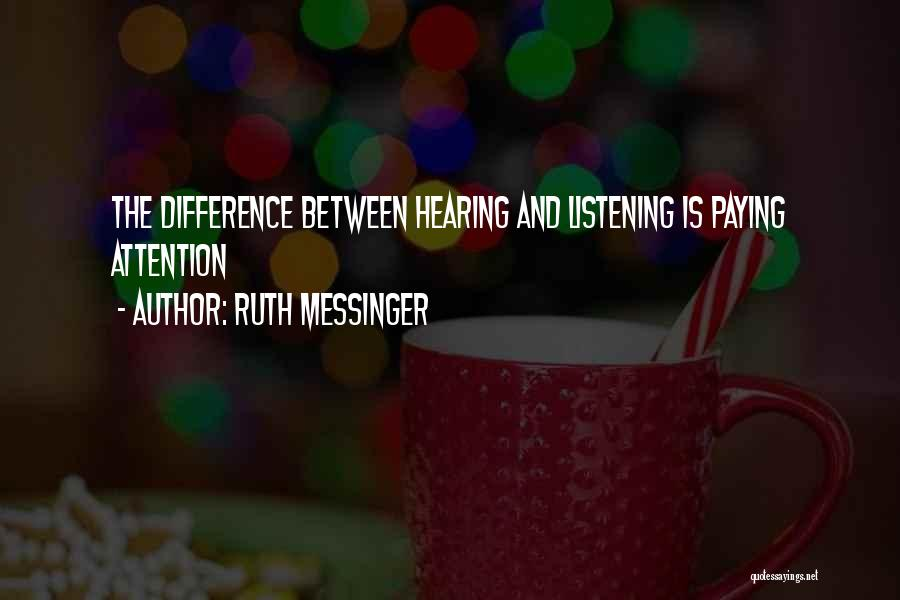 Ruth Messinger Quotes 790562