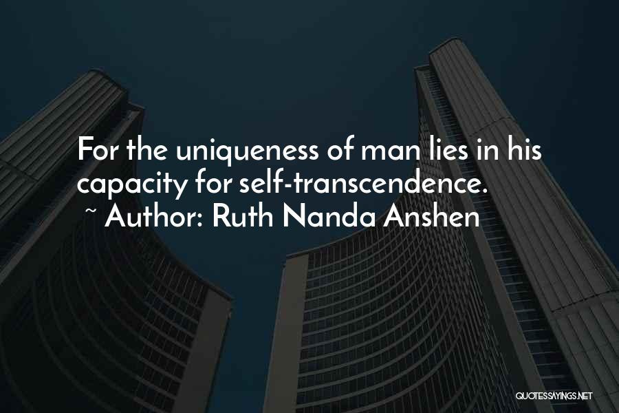 Ruth Nanda Anshen Quotes 2007026