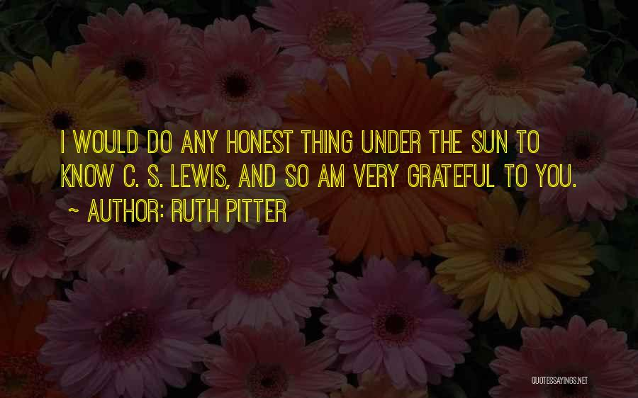 Ruth Pitter Quotes 1206557
