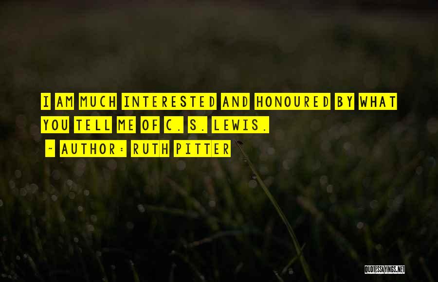 Ruth Pitter Quotes 1715997