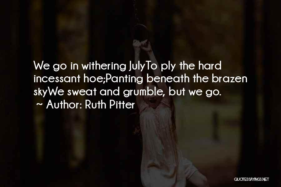 Ruth Pitter Quotes 1932564