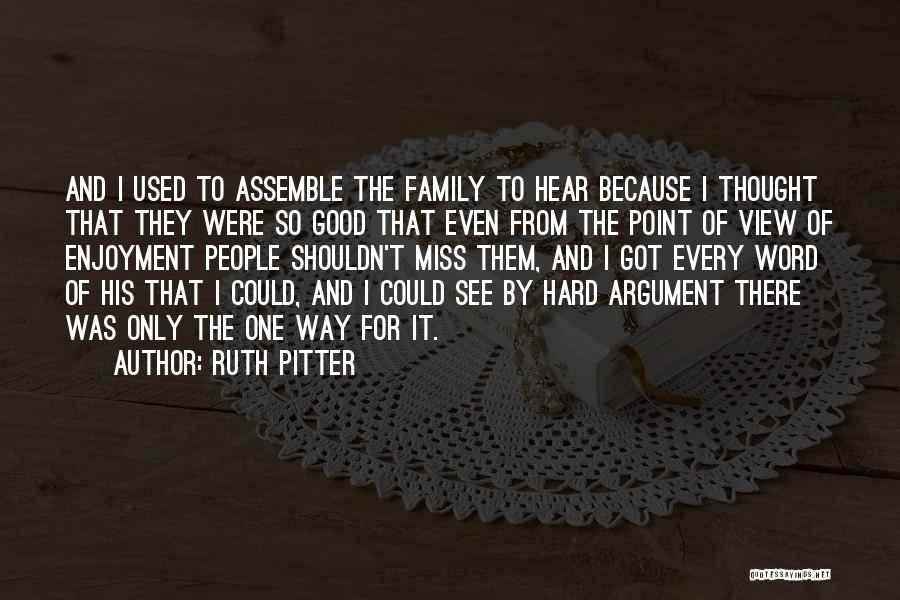 Ruth Pitter Quotes 344888
