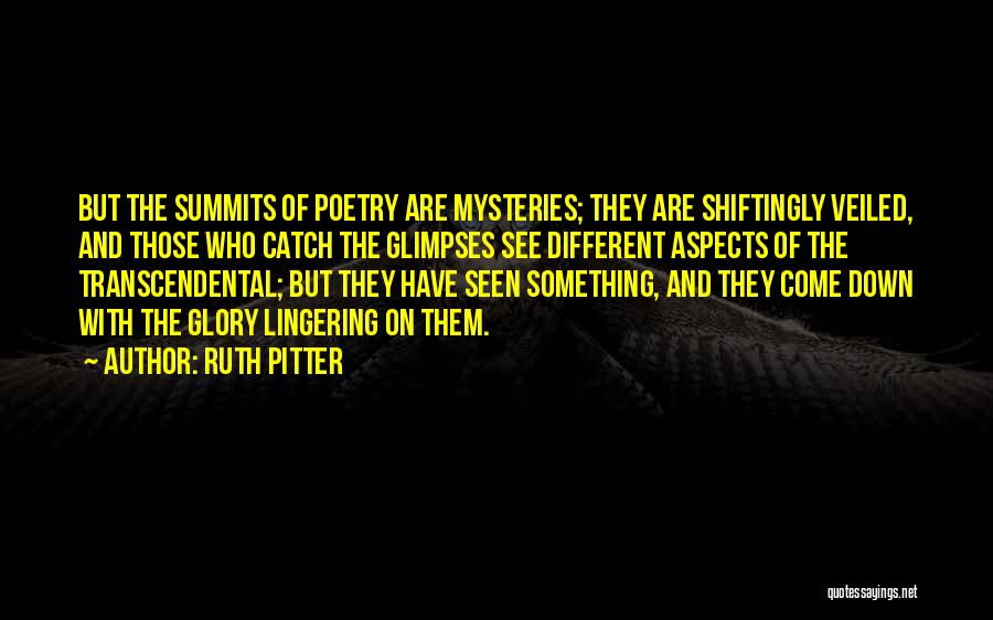 Ruth Pitter Quotes 807959