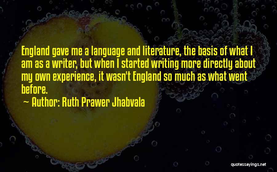 Ruth Prawer Jhabvala Quotes 1227249