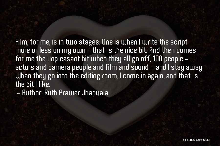 Ruth Prawer Jhabvala Quotes 1320168