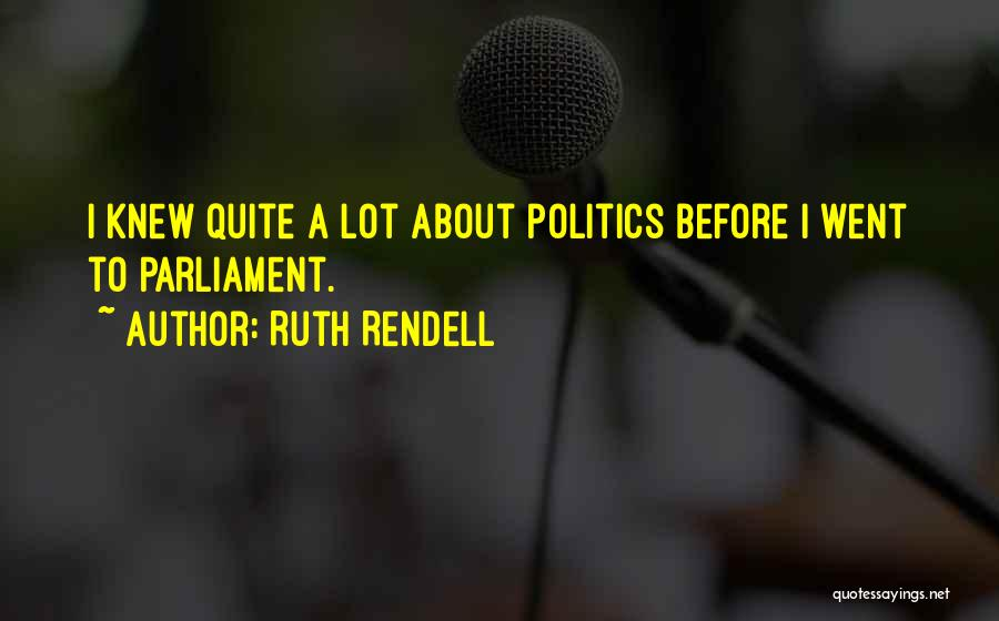Ruth Rendell Quotes 1388057