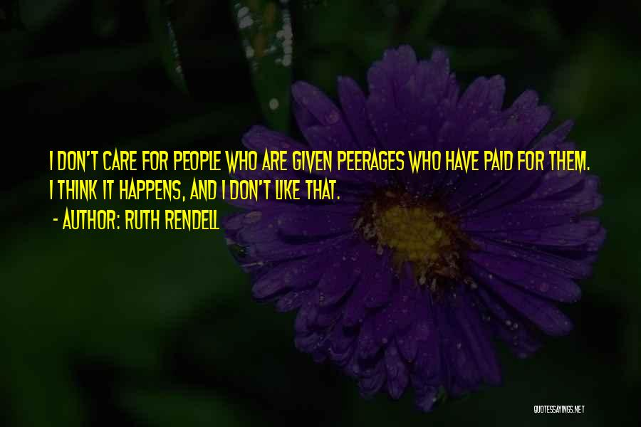 Ruth Rendell Quotes 1409401