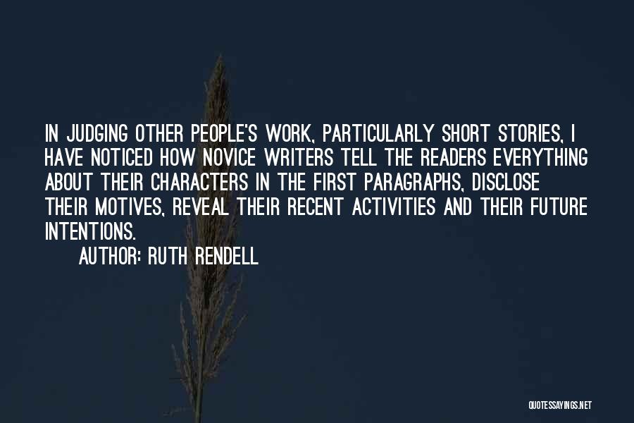 Ruth Rendell Quotes 1428234