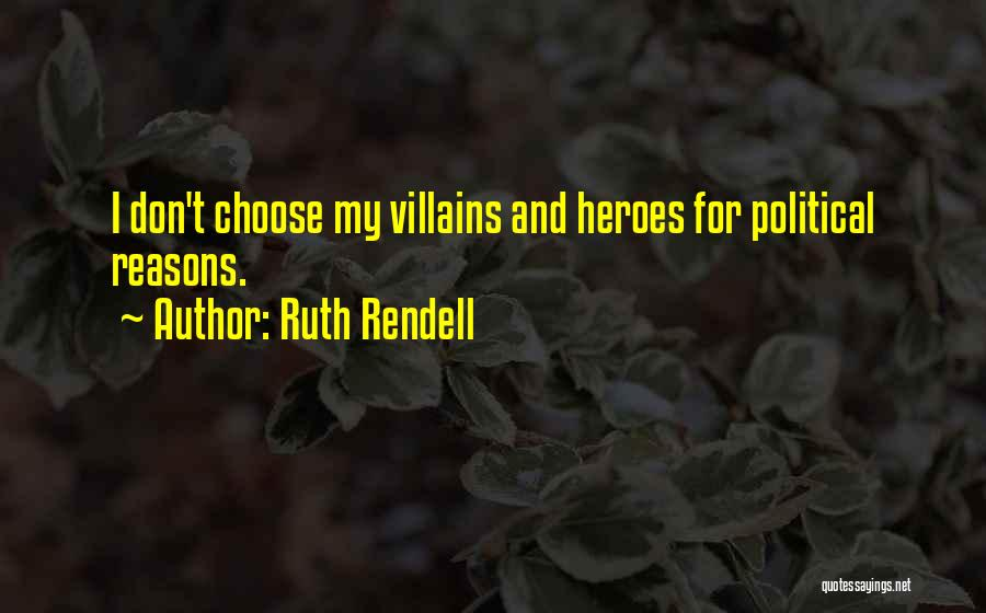 Ruth Rendell Quotes 1879837
