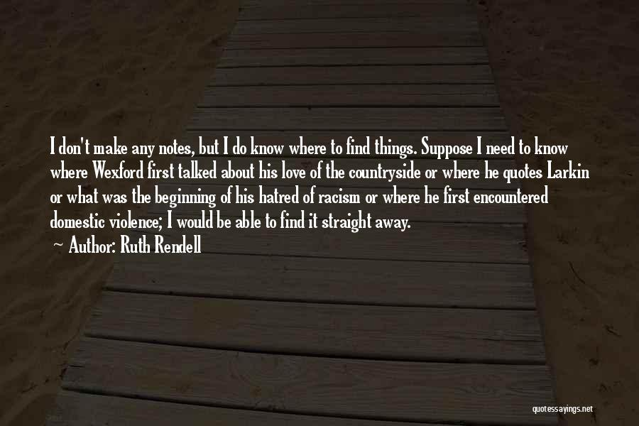Ruth Rendell Quotes 1937958