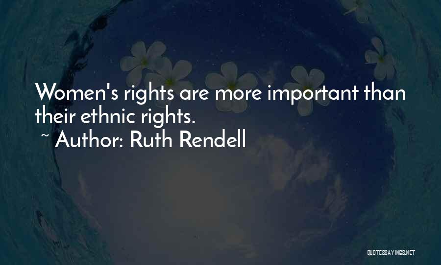 Ruth Rendell Quotes 2092308