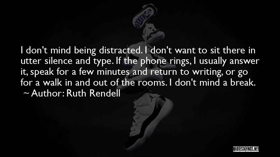 Ruth Rendell Quotes 601618