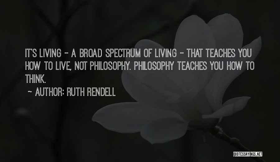 Ruth Rendell Quotes 631908