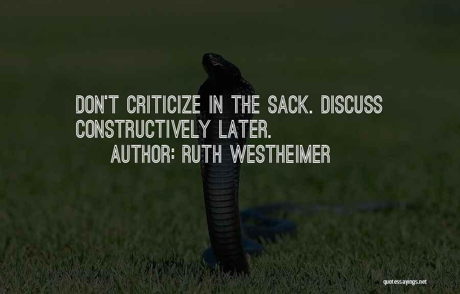 Ruth Westheimer Quotes 1847921