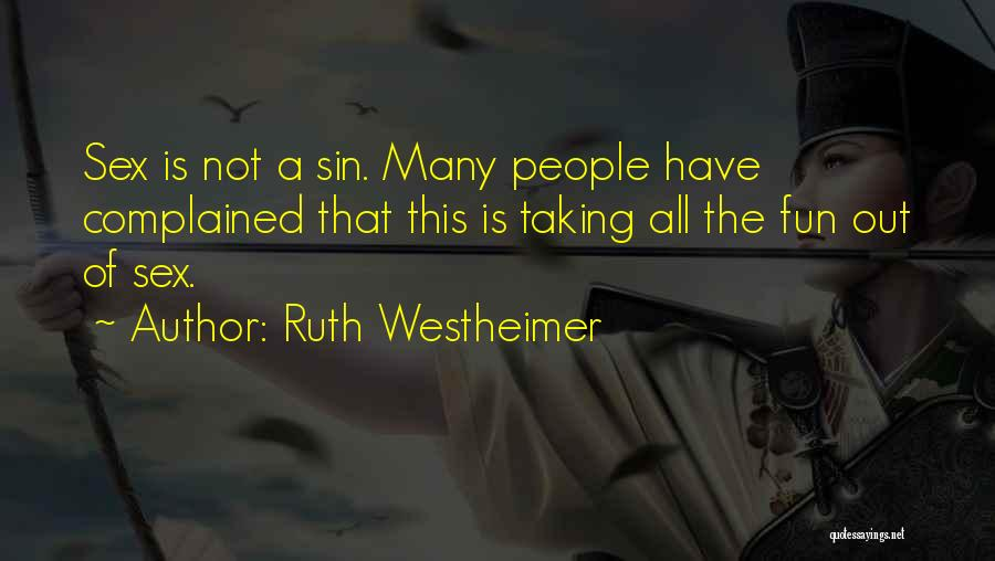 Ruth Westheimer Quotes 391250