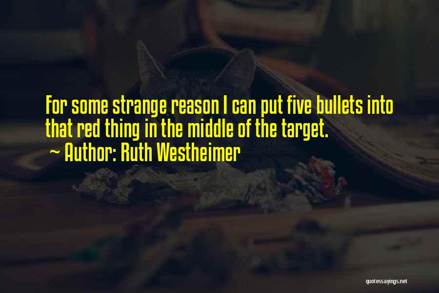 Ruth Westheimer Quotes 894458