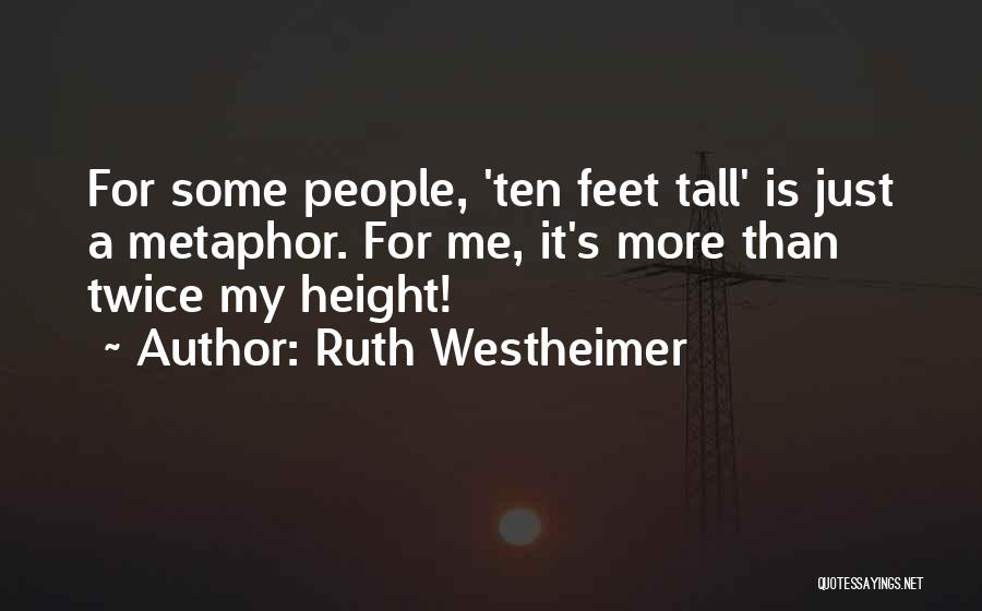 Ruth Westheimer Quotes 919387