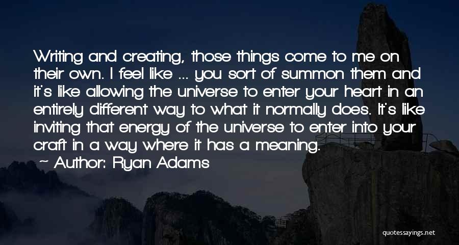Ryan Adams Quotes 1842864