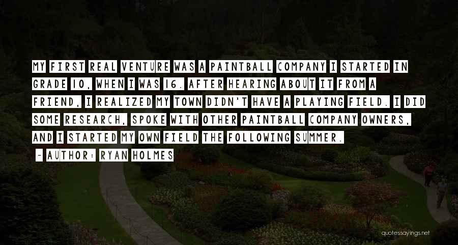 Ryan Holmes Quotes 1835556