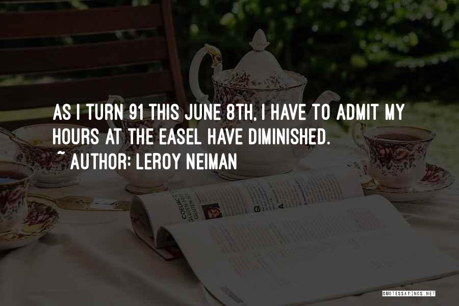 Ryan Leslie Quotes By LeRoy Neiman