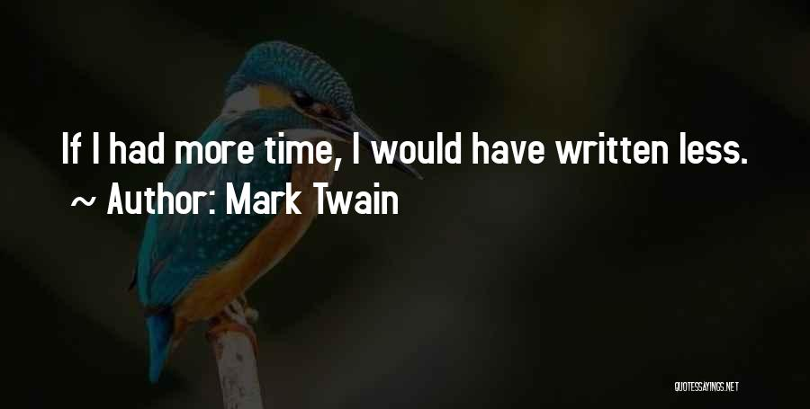 Ryan Leslie Quotes By Mark Twain
