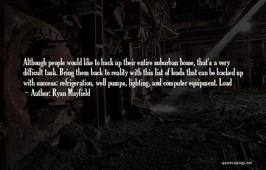 Ryan Mayfield Quotes 839445