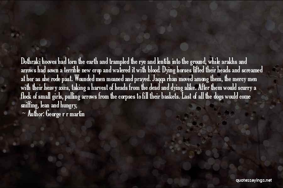 Rye Quotes By George R R Martin