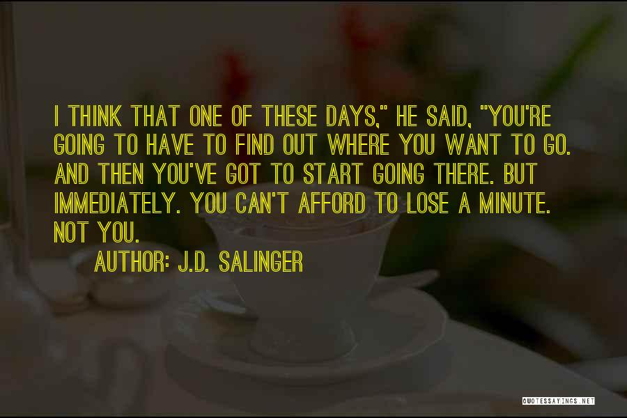 Rye Quotes By J.D. Salinger