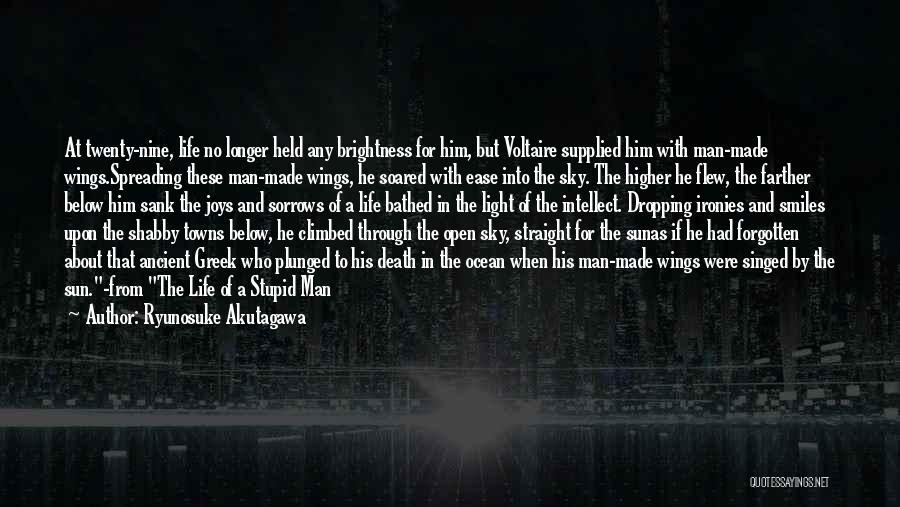 Ryunosuke Akutagawa Quotes 1713038