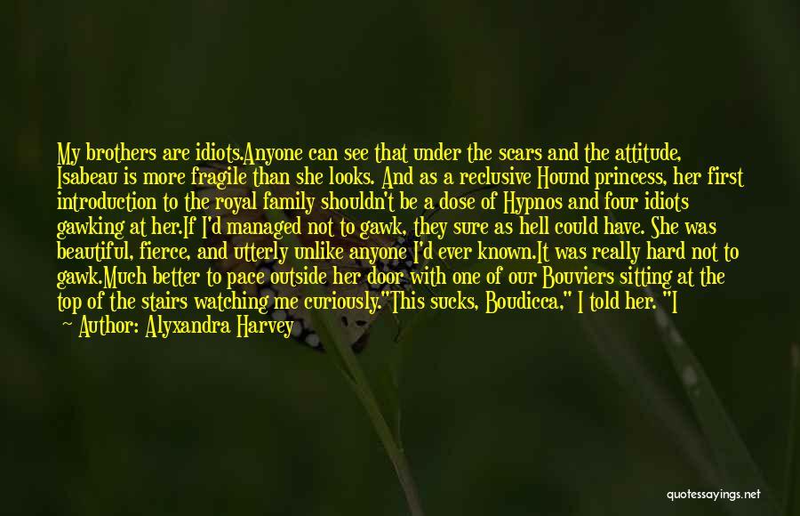 S.a.d Quotes By Alyxandra Harvey