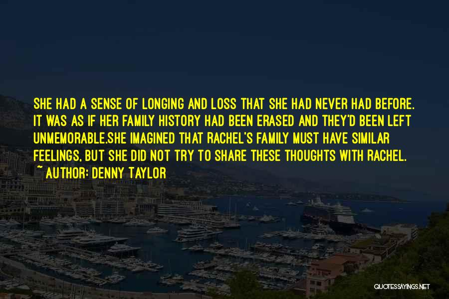 S.a.d Quotes By Denny Taylor