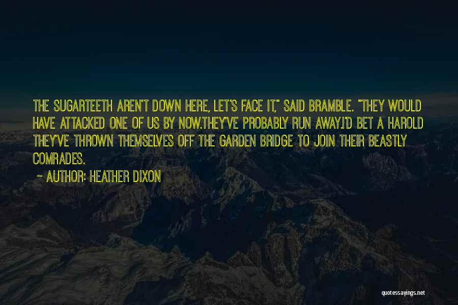 S.a.d Quotes By Heather Dixon