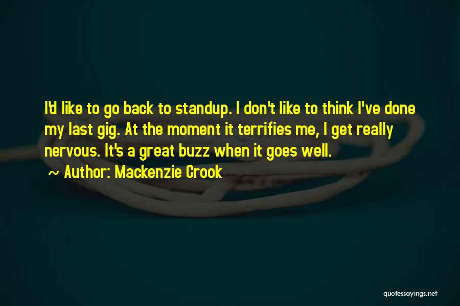 S.a.d Quotes By Mackenzie Crook