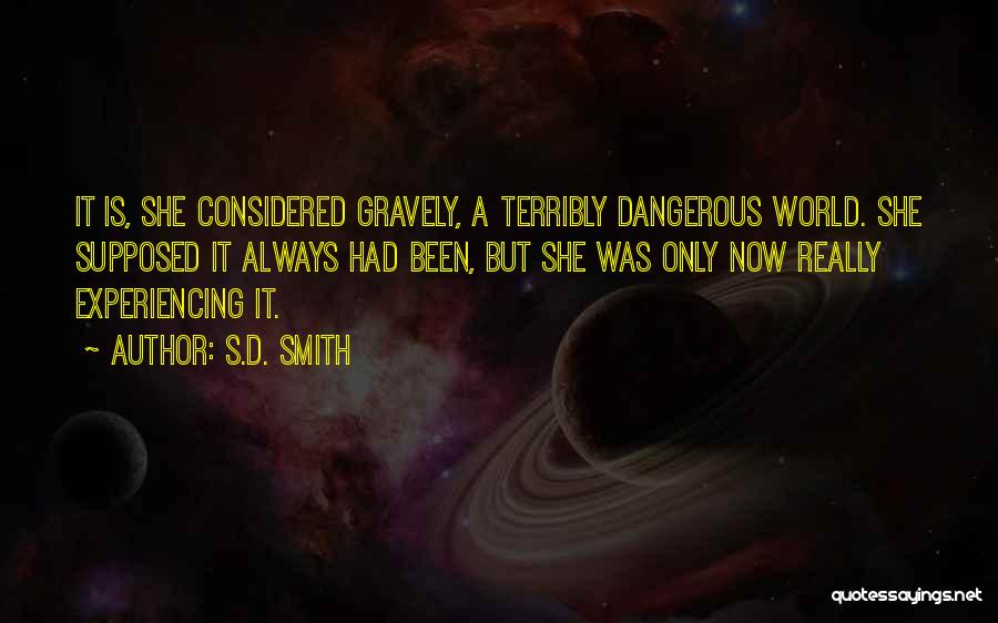 S.a.d Quotes By S.D. Smith