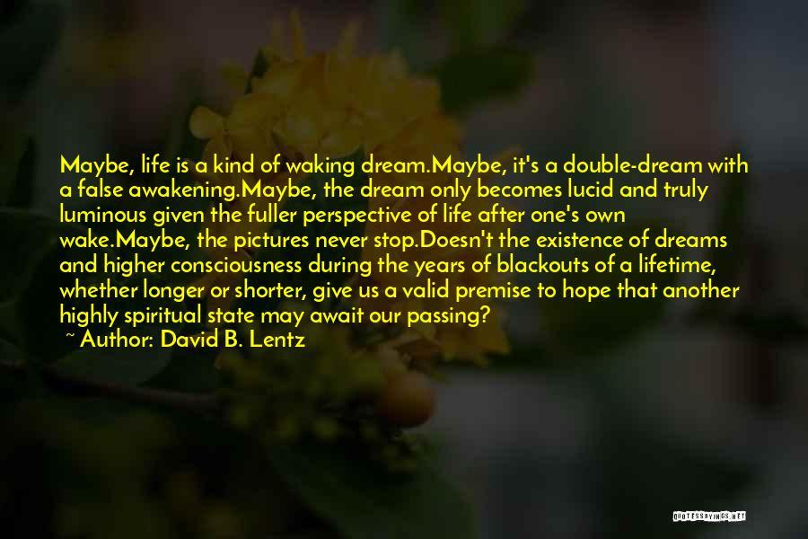 S B Fuller Quotes By David B. Lentz