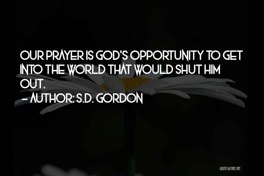 S.D. Gordon Quotes 1231858