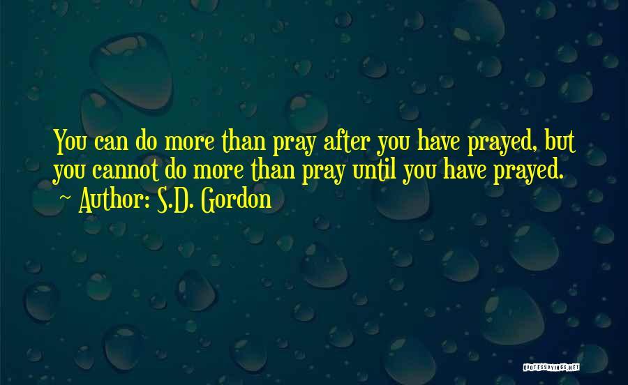 S.D. Gordon Quotes 594181
